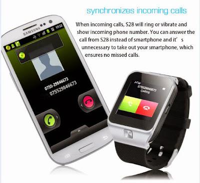 ZGPAX S28 Smart Watch Phone
