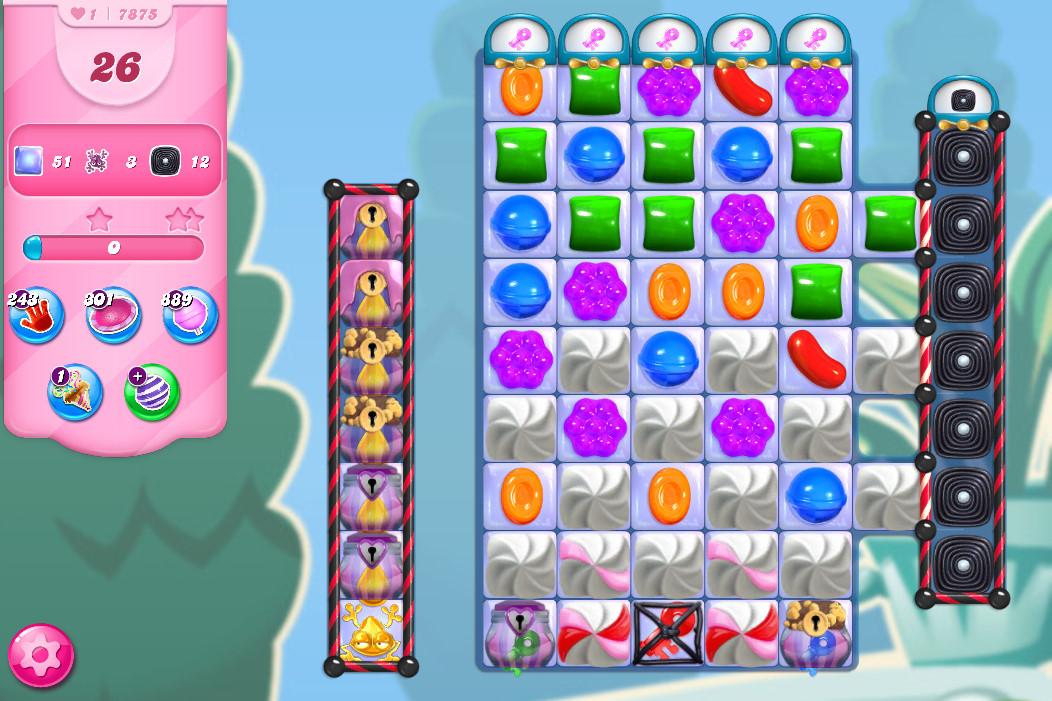 Candy Crush Saga level 7875