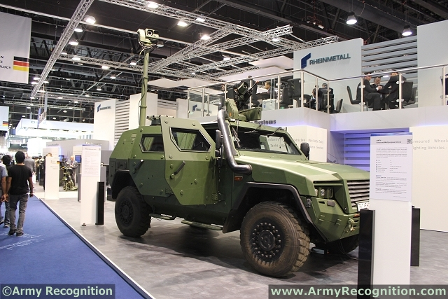 World Defence News: Rheinmetall Electro-optical Products