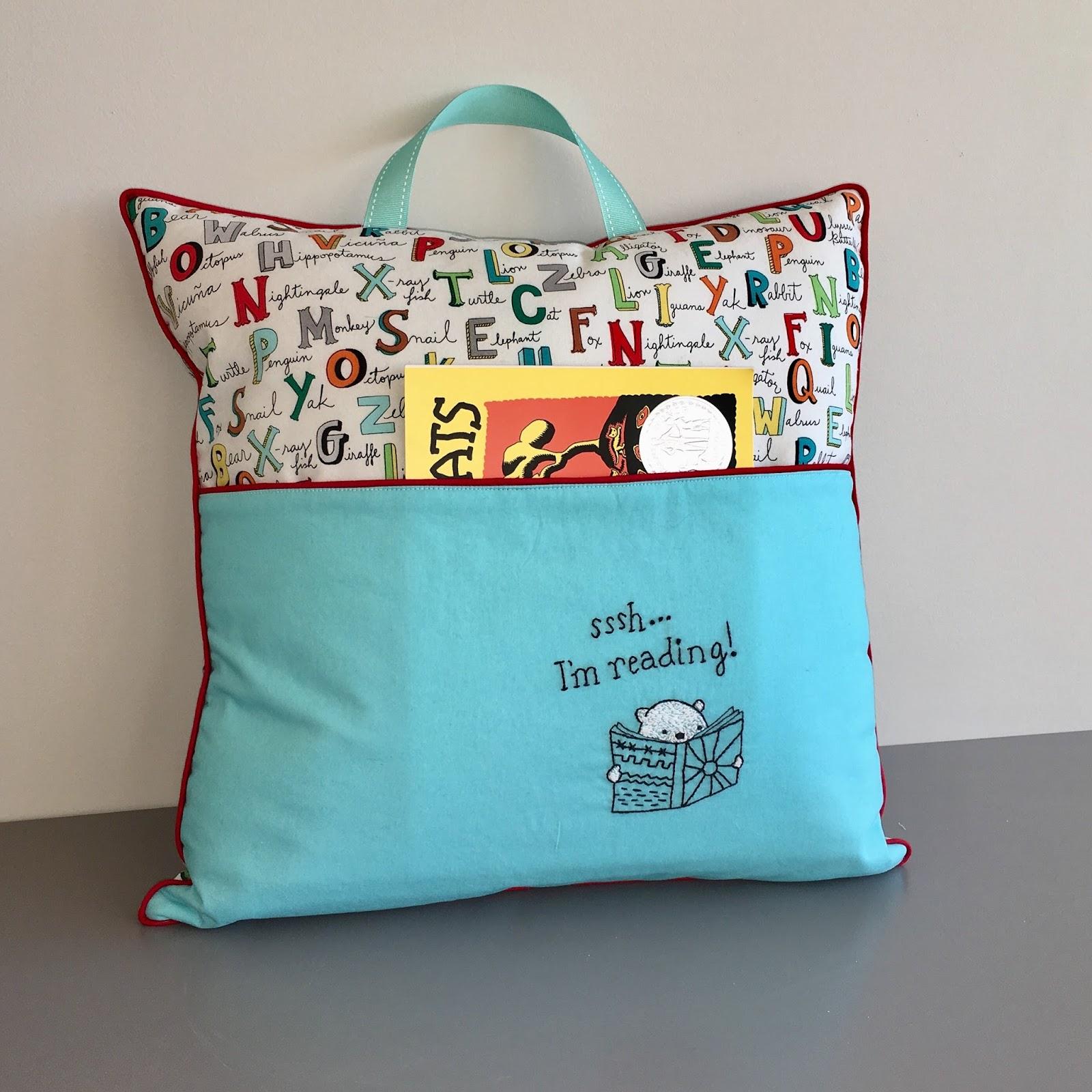 Mrs. Jones: Book Pocket Pillow