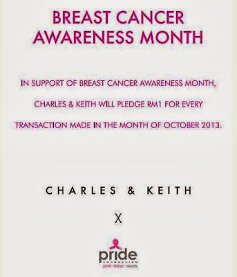 Pink October, Charles & Keith, Breast Cancer Awareness, PRIDE
