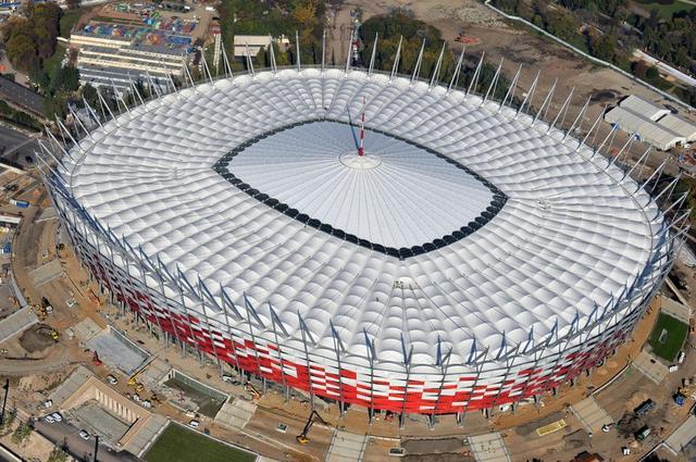 Tecnoespe Srl News English Roof Of Warsaw Stadium