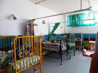 children's ward in Namibian hospital