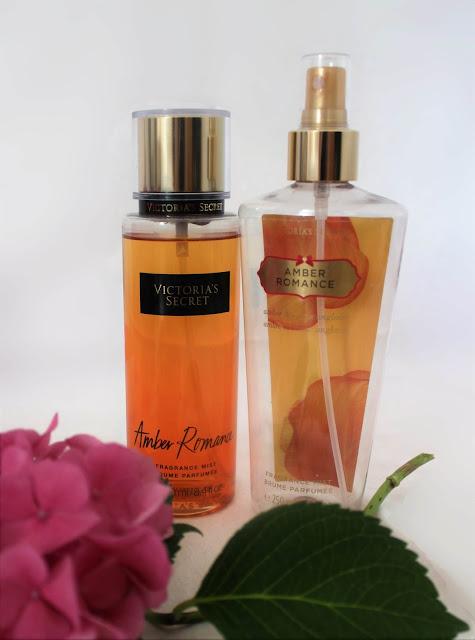 Neue und alte Verpackung nebeneinander - Amber Romance