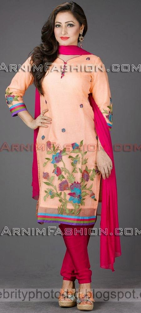 Exclusive Salwar Kameez with Gorgeous Design For Eid Fashion 2014