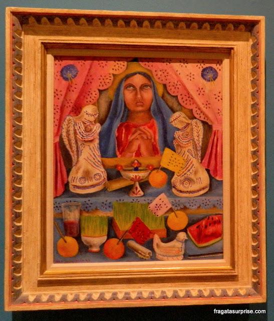 """Tela da pintora mexicana Maria Izquierdo, """"Altar de Dores"""""""