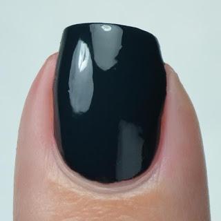 teal creme nail polish
