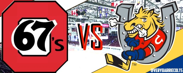 Quick Recap: Barrie Colts Stampede Ottawa 67's 11-2 in Home Opener. #OHL