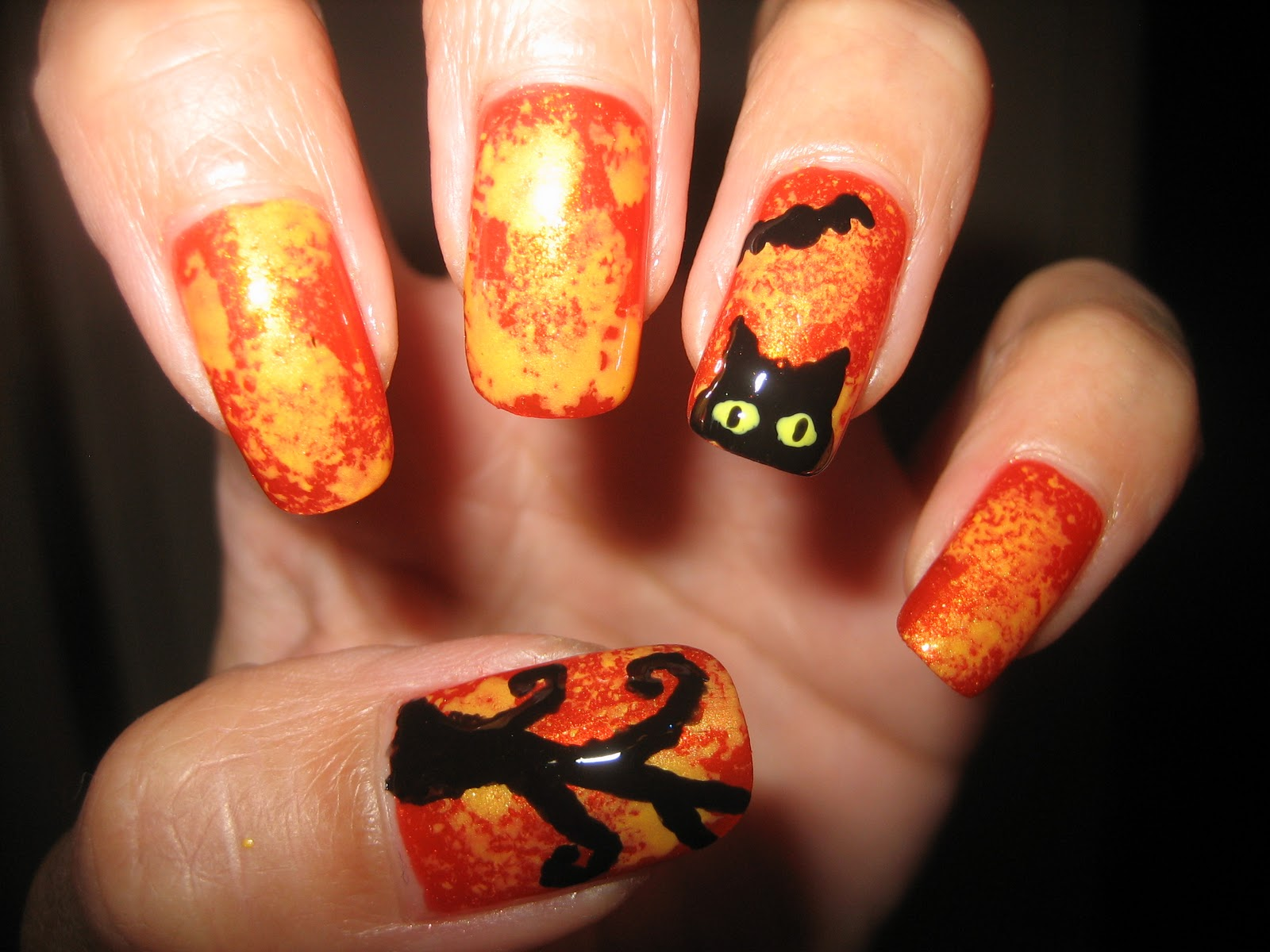 Awesome Nails By Nicole: October 2011