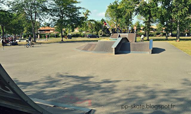 Skate park Hourtin