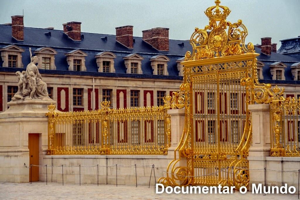 Praça de Armas; Palácio de Versalhes; Château de Versailles;