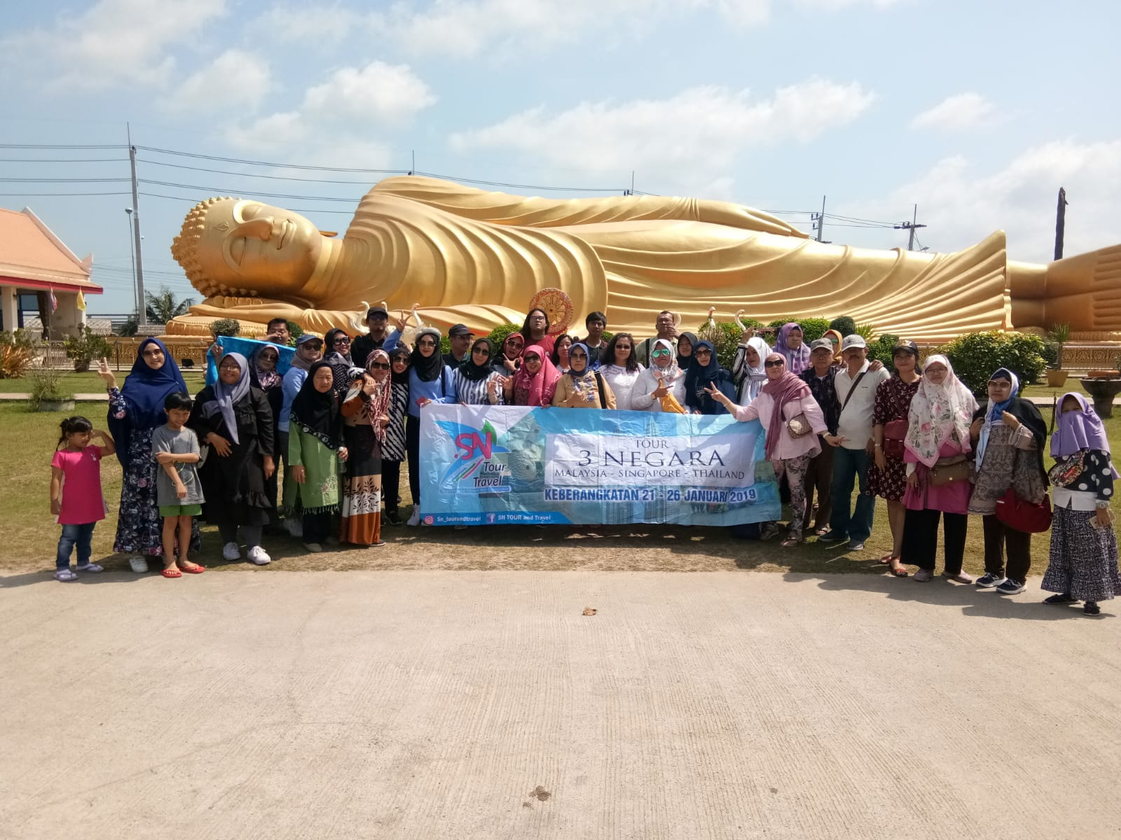 TOUR 3 NEGARA (SIN-KL-THAI) 21 - 26JAN 2019