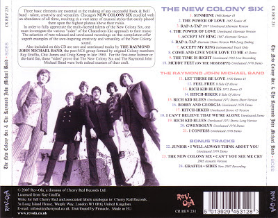 The New Colony Six - Sides (1965 - 1974)