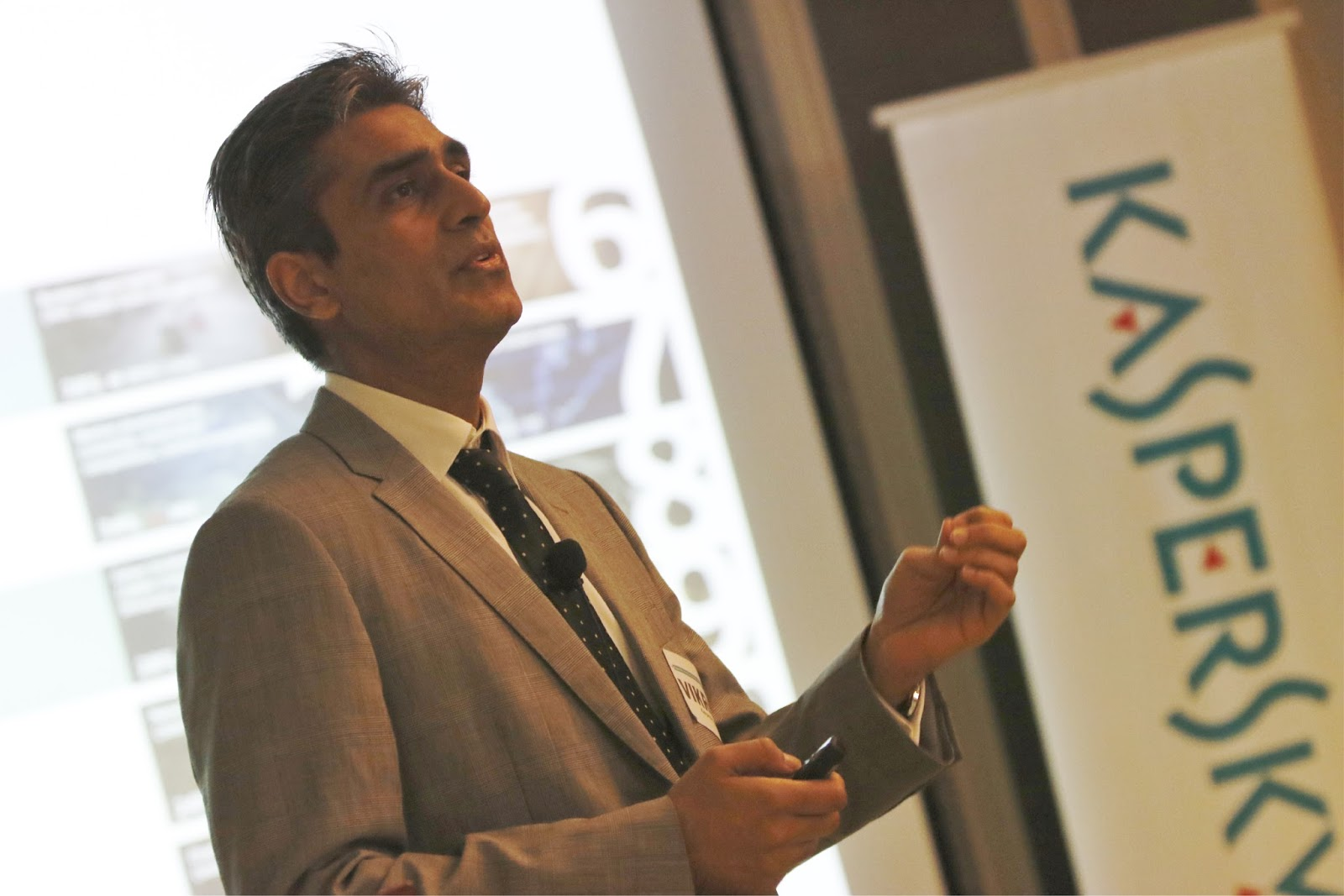 Vikram Kalkat, Kaspersky Industrial CyberSecurity Global Business Development at Kaspersky Lab Asia Pacific