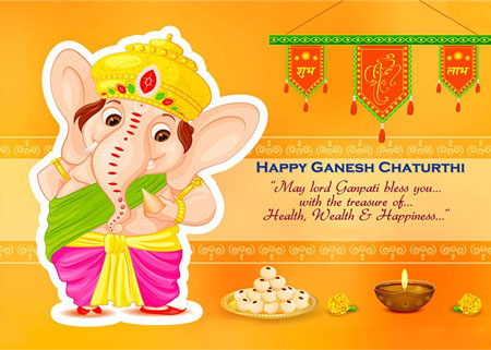 2018 happy Ganesh Chaturthi Images & Hd Wallpapers