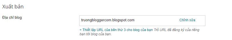 Hướng dẫn trỏ tên miền về Blogspot (Blogger)