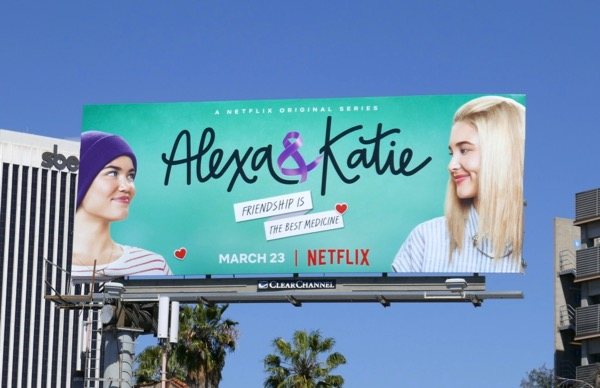 Alexa and Katie series premiere billboard