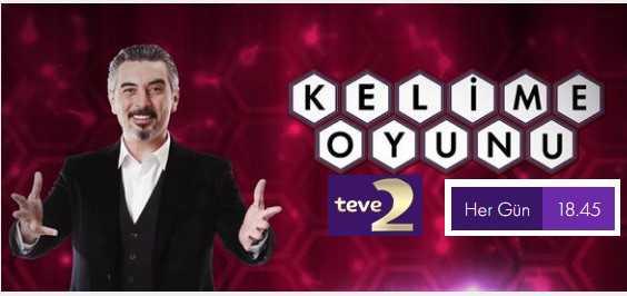 TV2+Kelime+oyunu+Başvuru Katılım Formu Ali ihsan Varol