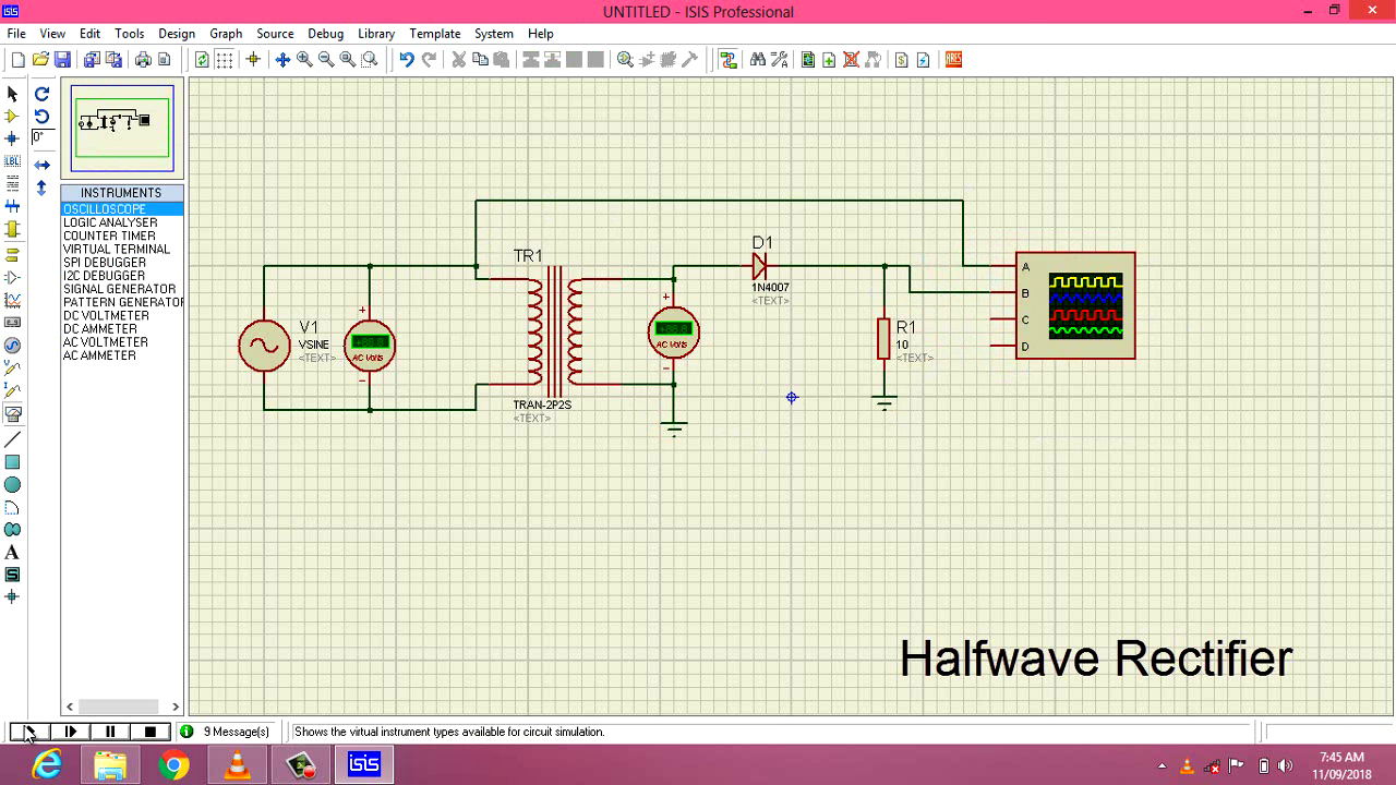 Guna Electronics Full Wave Rectification Circuit Power Rectifier When Used For The Half Is With A Transformer If It To Be Powering Equipment In