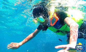 snorkeling di pulau putri