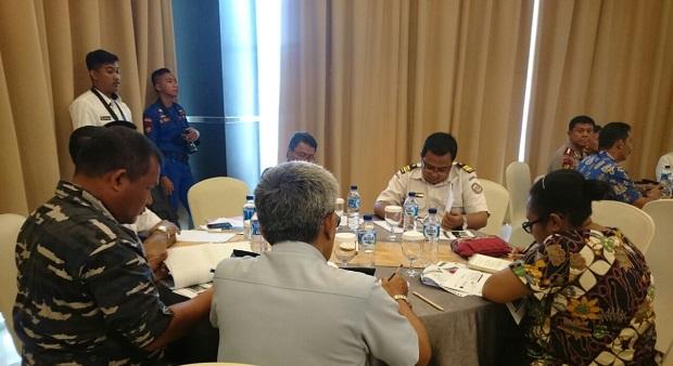 Bakamla RI Tilik Keamanan Laut Papua Melalui Forkor Jak Kamla