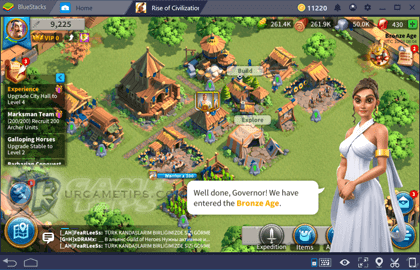 Rise of Civilizations Gameplay