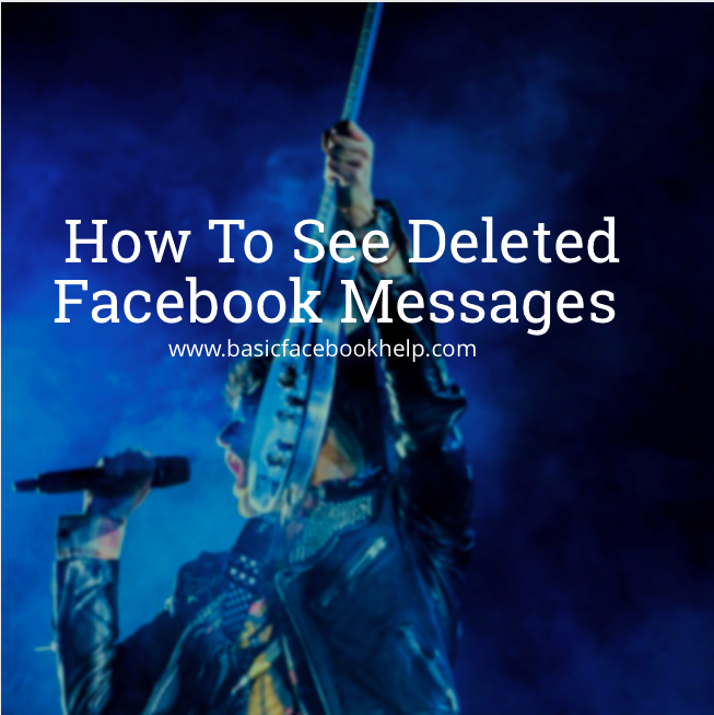 How To See Deleted Photos On Facebook