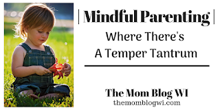 Mindful Parenting | Where There's A Temper Tantrum | The Mom Blog WI #Discipline #Parenting #Love #HealthyParenting #HappyParenting