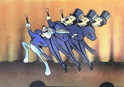 Bugs Bunny stage dance 1b