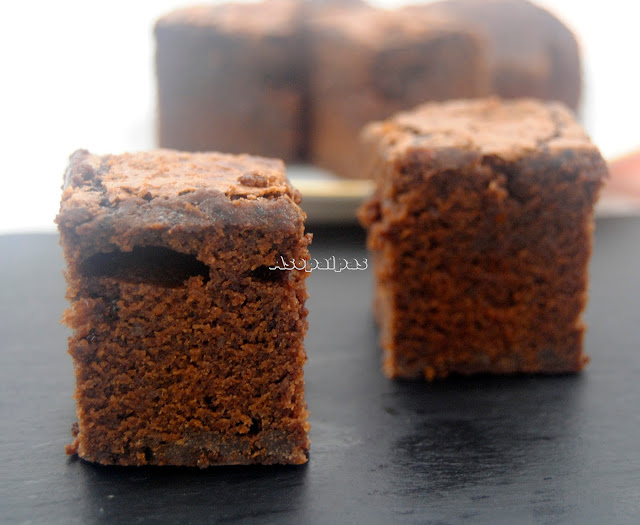 Brownies de Chocolate con Naranja