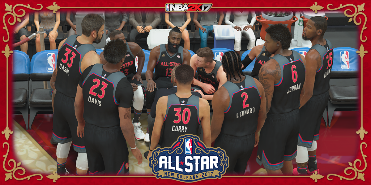 Mira como luce el All Star en NBA 2K17