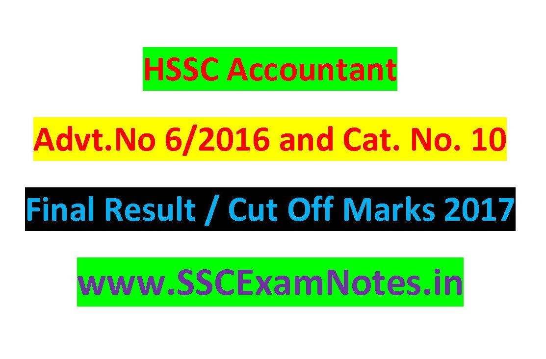 HSSC Anganwadi Supervisor Result 2018 Check Cut Off, Merit List