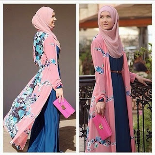 Model Gaun Pesta Muslim Modern untuk Tampil Mempesona