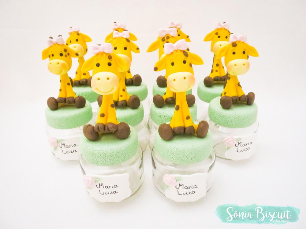 Biscuit, Sonia Biscuit, Lembrancinhas, Safari, Elefante, Girafa, Leao, Macaco