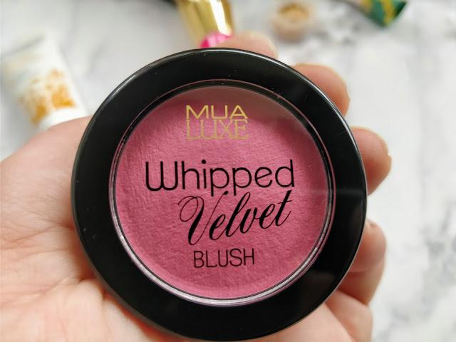 MUA Luxe Whipped Velvet Blush in Hedonic