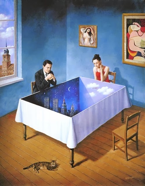 04-Artist-Painter-and-Graphics-Designer-Rafal-Olbinski-Surreal-Paintings-www-designstack-co