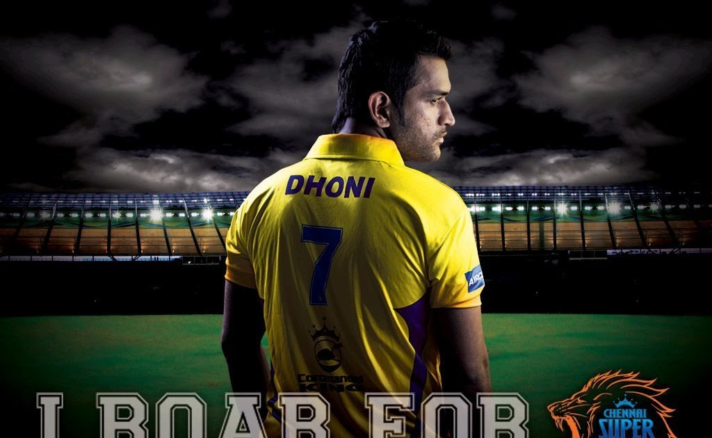 Ms Dhoni Hd Wallpapers Csk: Chennai Super Kings Is Ready To Roar