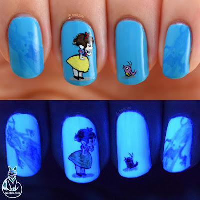 Snow White Nail Art Nailzini
