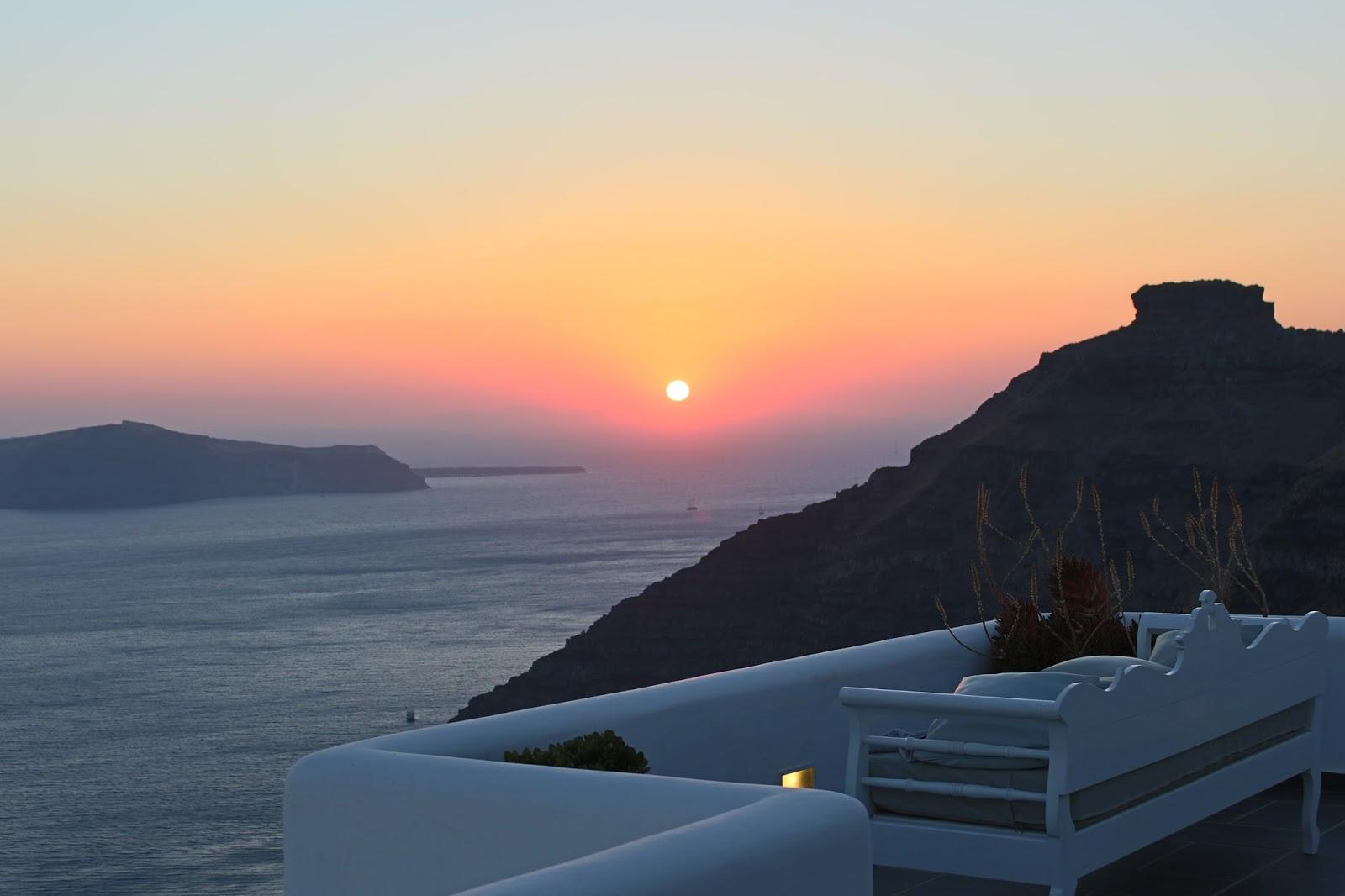 Bijuleni - Santorini Sunset