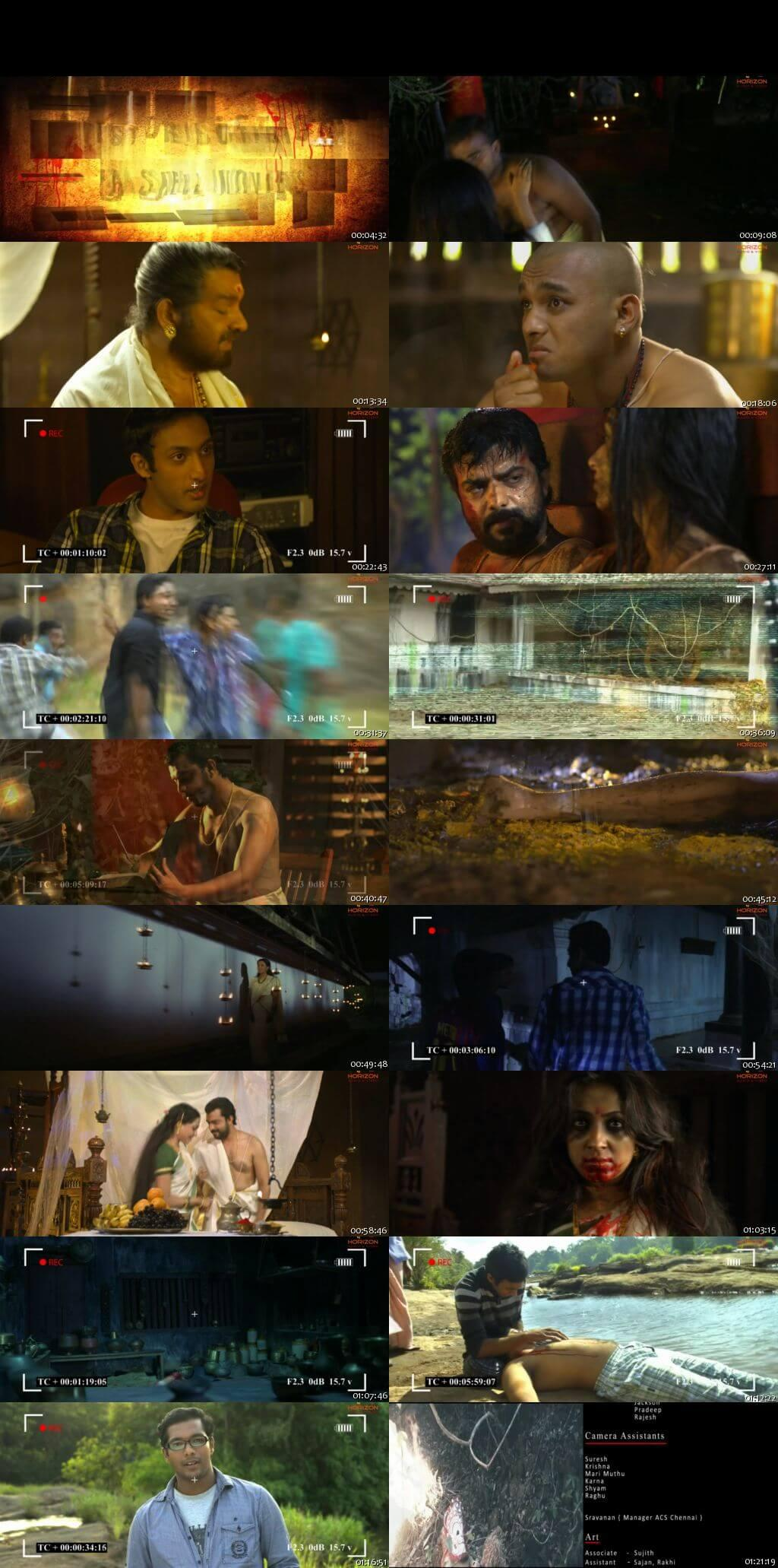 Screen Shot Of Yakshi Faithfully Yours 2012 Malayalam Movie Hindi Dubbed Free Download 100MB HEVC For Mobiles