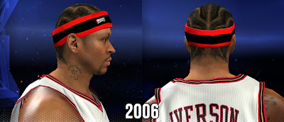 NBA 2K14 A.I Black-Red-Black Headband