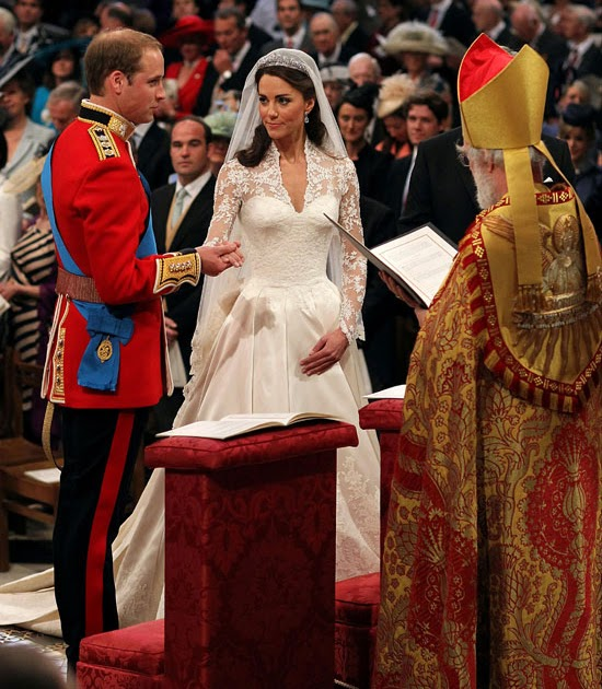Anglicans Ablaze: Royal Wedding: High Church But Not Anglo
