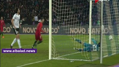 هدف التعادل للبرتغال أمام منتخب مصر