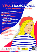 Fiesta homenaje France Gall en Siroco Club