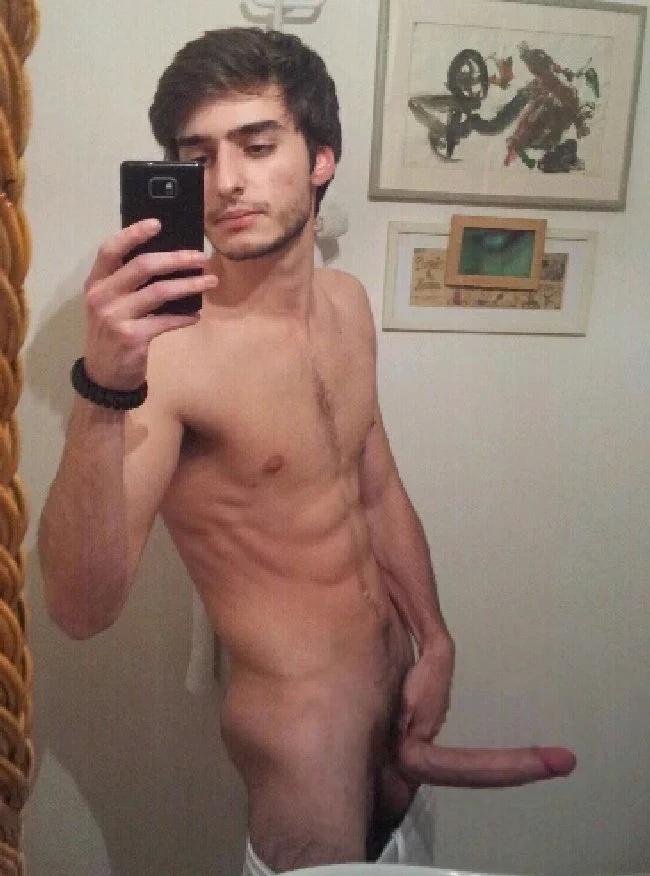 Homens Pelados Naked Men Amadores Pelados Na Selfie 4-6096