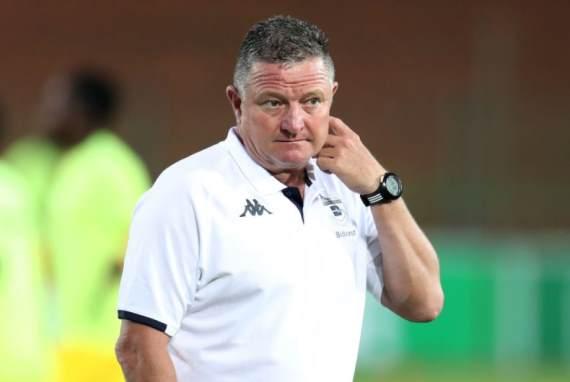 Bidvest Wits coach Gavin Hunt