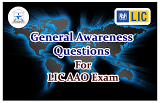 Important General Awareness Questions for LIC AAO 2016 Set-14