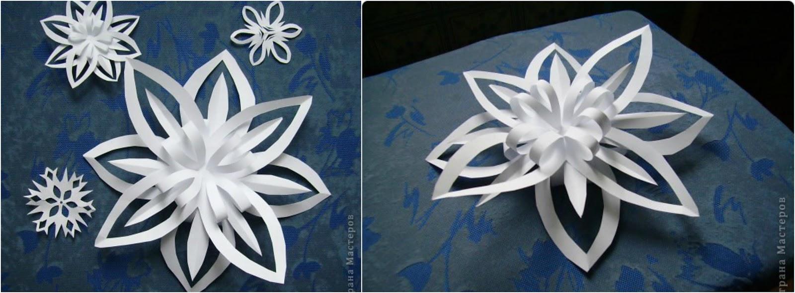 Tutorial f cil aprende c mo hacer adornos de papel para - Adornos de papel para navidad ...