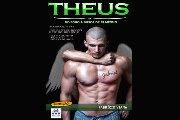 Capa - Resenha | Theus: Do Fogo à Busca de Si Mesmo - Fabrício Viana | Blog #tas