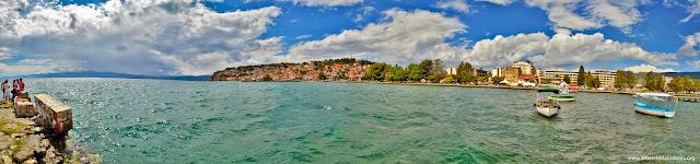Ohrid Lake, Macedonia - panorama
